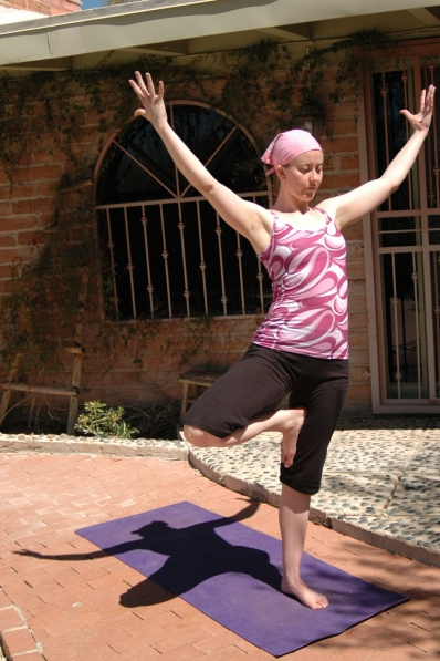 Tree Pose - Front