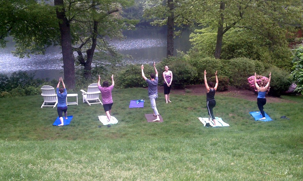 Pond House Yoga 2