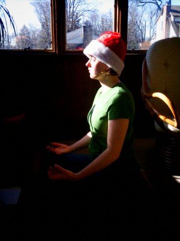 Christmas Yogini
