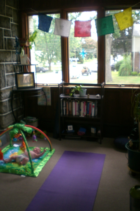 Mom and Baby Yoga Space
